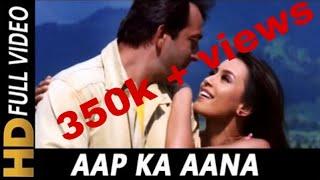 Aap Ka Aana Dil Dhadkana ((((Jhankar))) HD -Kurukshetra (2000)