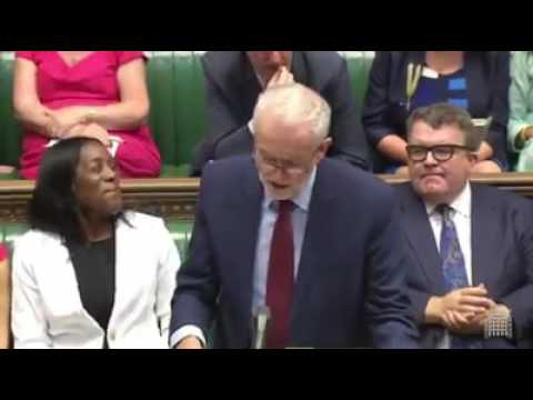 Theresa May Humiliated By Jeremy Corbyn On Education