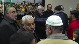 مصر العربية   هنية يصل غزة عبر معبر رفح البري