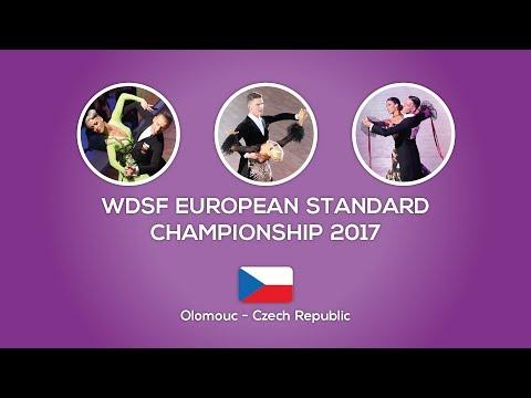 WDSF European Standard Championship 2017 - Olomouc, 3R | Heat 3 | Quickstep