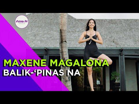 🔴 MAXENE MAGALONA BALIK-'PINAS NA