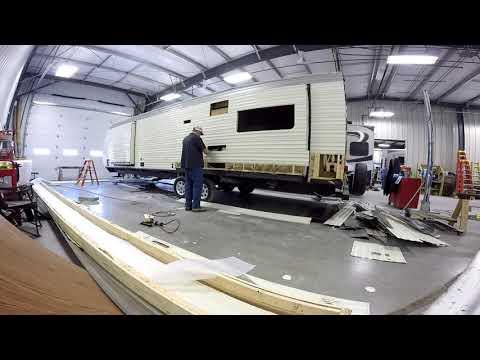 Replacing RV Aluminum Siding