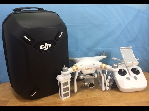 DJI Phantom 3 Professional Bundle Unboxing