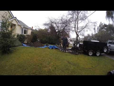 Waterline Install