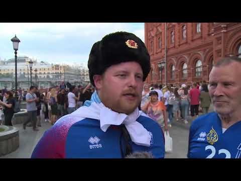آيسلندا الصغيرة تقصي الكبار بكأس العالم  - 19:21-2018 / 6 / 22