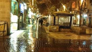 Stormy weather throughout Israel