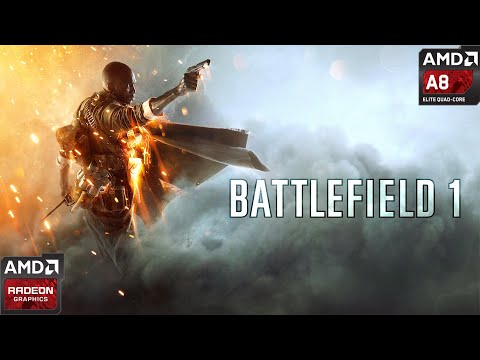 Battlefield 1 Amd A8 4500m Amd Radeon Hd 7640g 7600m Youtube