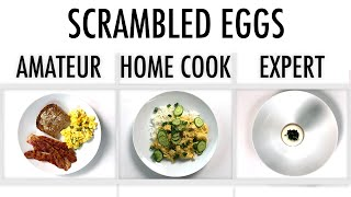 4 Levels of Scrambled Eggs: Amateur to Food Scientist | Epicurious