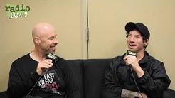 Josh Dun of TWENTY ØNE PILØTS talks running with Johnny @ Wells Fargo Center #RunWithRadio1045Johnny