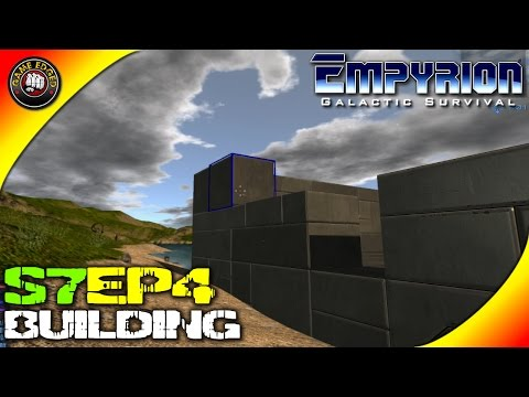 Empyrion Galactic Survival Gameplay - Food, Hunting Base Build - S7EP4 (Alpha V4.2)