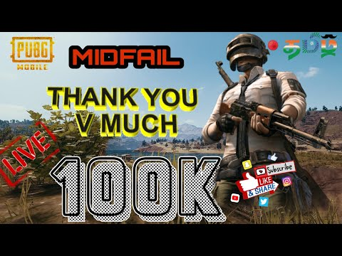 Pubg Mobile ~Funny game play~Road to 1L Subs(24-07-2019)