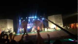 Indian Ocean performing during closing ceremony of IIT Roorkee