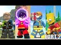 Best Characters Animations in Lego Videogames! - PART 2