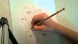 How to Draw Finn from Adventure Time