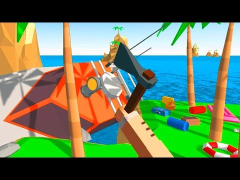 Pixel Island Survival 3D (Android HD Gameplay Video)