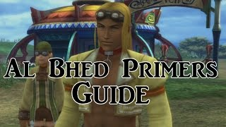 Final Fantasy X: Al Bhed Primers Guide