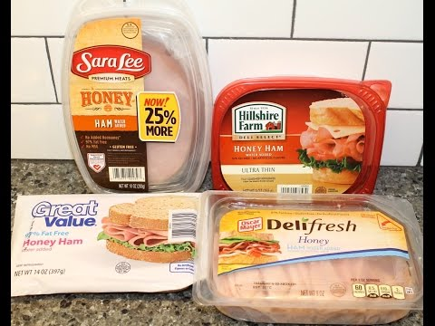 Lunch Meat Blind Taste Test: Sara Lee, Hillshire Farm, Oscar Mayer & Great Value