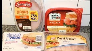 Lunch Meat Blind Taste Test: Sara Lee, Hillshire Farm, Oscar Mayer & Great Value