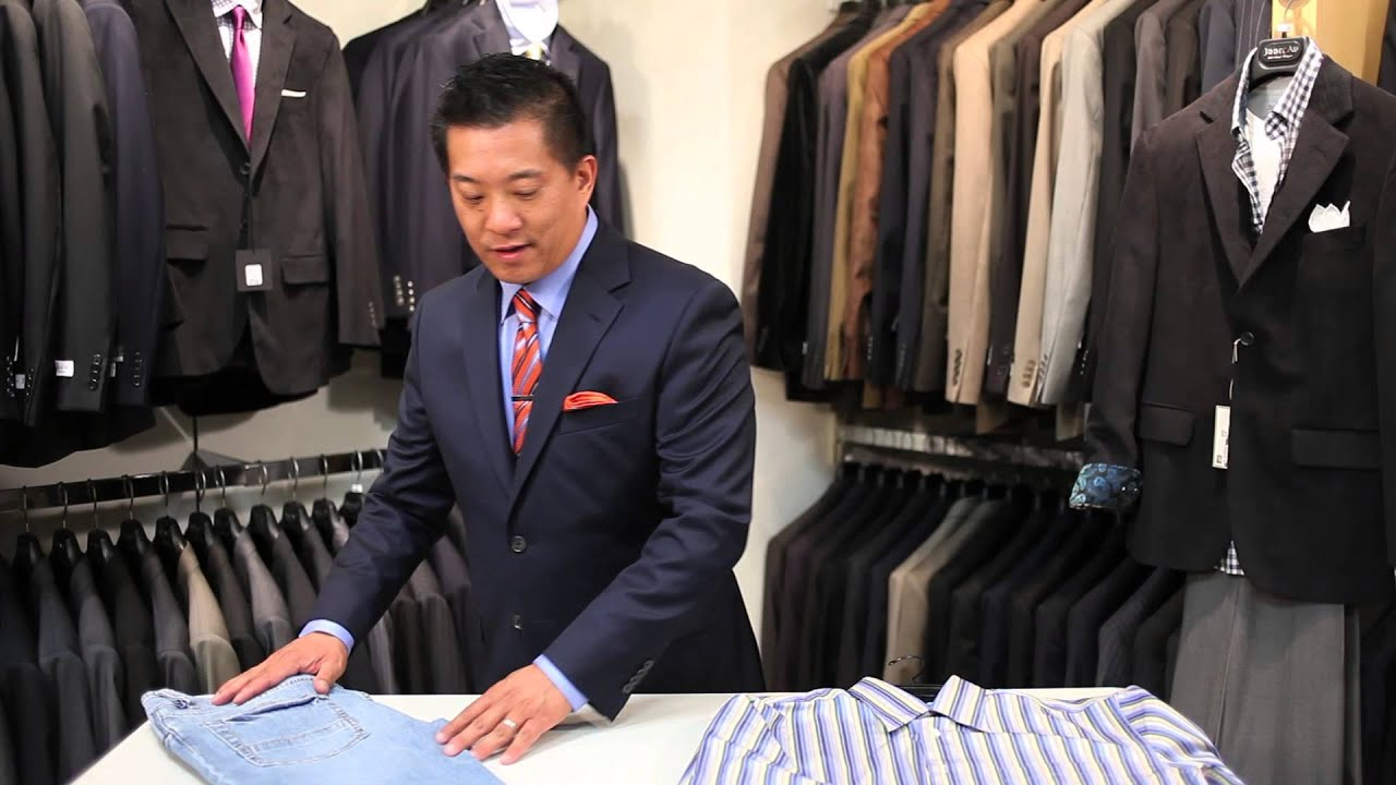 How To Dress A Male Body With A Short Torso : Men's Suits