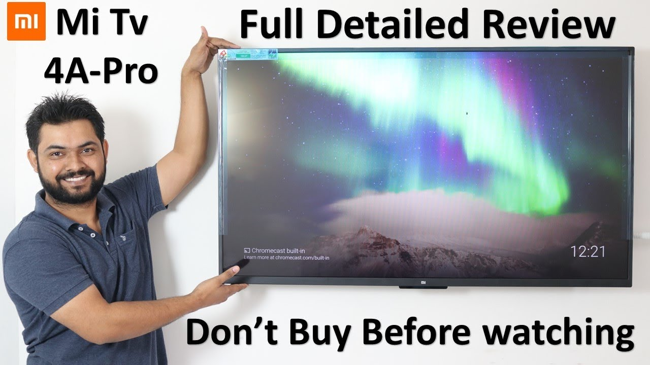 Xiaomi Mi Tv 4A Pro (49) Complete Detailed Review in Hindi