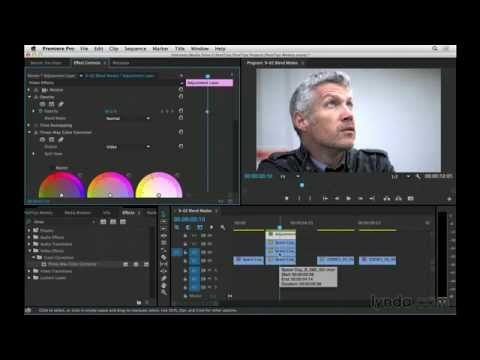 Using Blend Modes To Correct Overexposure In Premiere Pro | Video Post Tips | Lynda.com