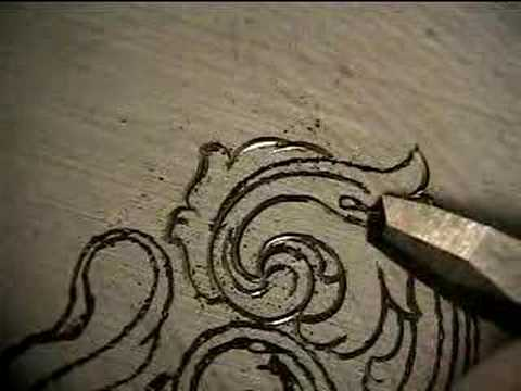 Hand Engraving Video, tut 01b - YouTube