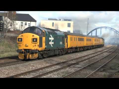 37025 & 37116 dep Derby RTC   Tonbridge 2 4 17