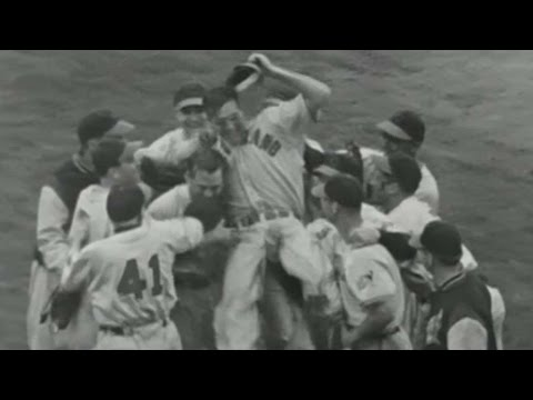 1948 WS Gm6: Indians win the 1948 World Series