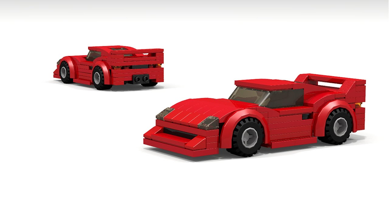 lego ferrari f40 instructions youtube. Black Bedroom Furniture Sets. Home Design Ideas