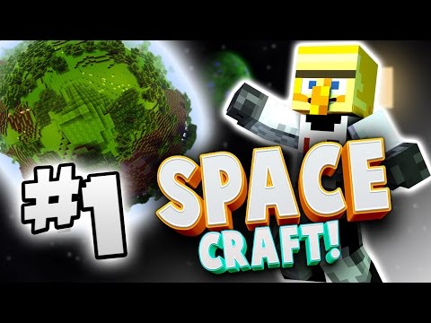 JOURNEY TO MARS?! - SPACE CRAFT MODDED SERIES #1  - Minecraft MOD PACK w/Nice Posture!