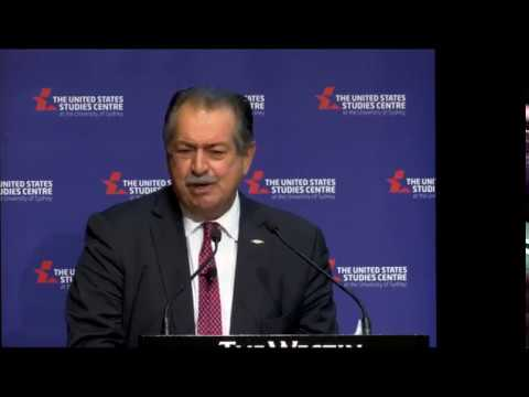 Head of the Dow Chemical Company, Andrew Liveris, on rebuilding the American manufacturing sector