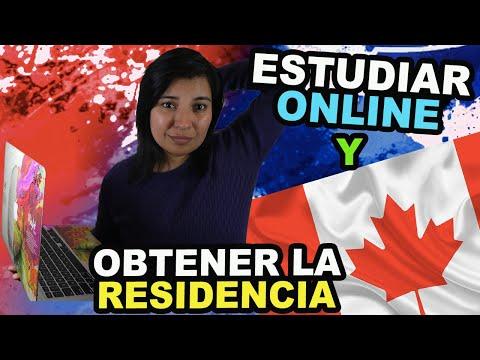 ESTUDIAR ONLINE Y OBTENER LA RESIDENCIA PERMANENTE EN CANADA