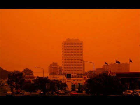 2003 Canberra Firestorm - STATE OF EMERGENCY + Extra Footage of Police Evacuating suburbs