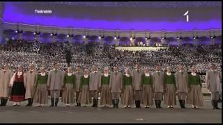 25. Vispārējo latviešu Dziesmu svētku noslēguma koncerts