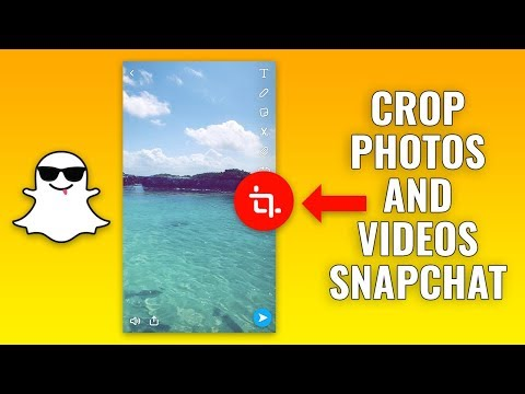 How To Crop Snapchat Photos & Videos