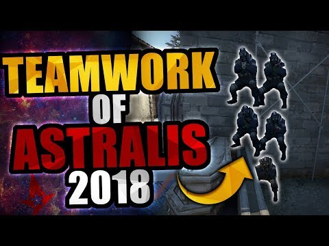Some of The Smartest Astralis' Strats & Teamplays in 2018! (Highlights)