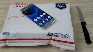 Samsung Galaxy S7 Edge Unboxing! [in 2017] (4K)