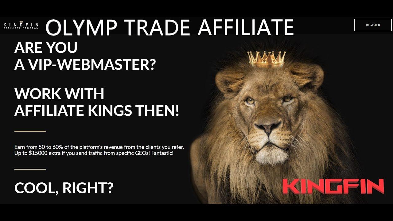 Affiliate Program Of Olymp Trade Kingfin Earn Money With Kingfin Ll Olymp Trade Affiliate Ll Youtube