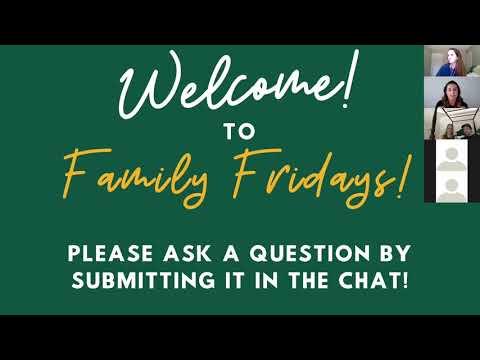Family Friday: Academic Advising