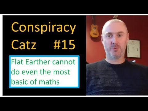 #15 Flat earth conspiracy theorist can't do the most basic of maths plus Tarzan appears