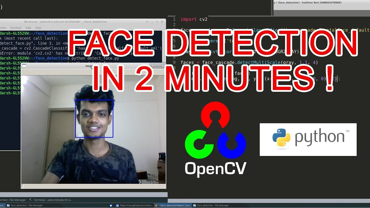 Face Detection in 2 Minutes using OpenCV & Python - Towards Data Science