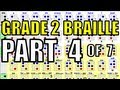 Grade 2 Braille [4/7] - The Words Represented by Braille Letters