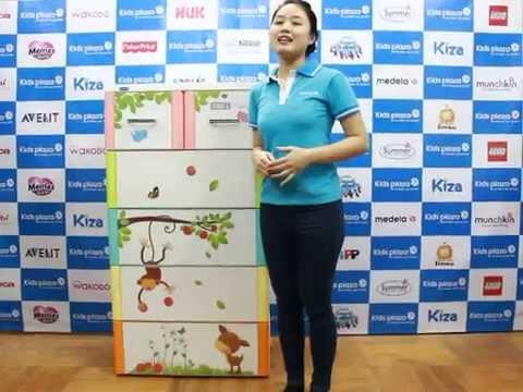 Tủ nhựa Duy Tân – Tủ nhựa Tabi size L – KidsPlaza.vn