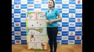 Tủ nhựa Duy Tân - Tủ nhựa Tabi size L - KidsPlaza.vn