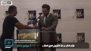 مصر العربية | مؤتمر الاعلان عن البث التلفزيوني للدوري الممتاز ب
