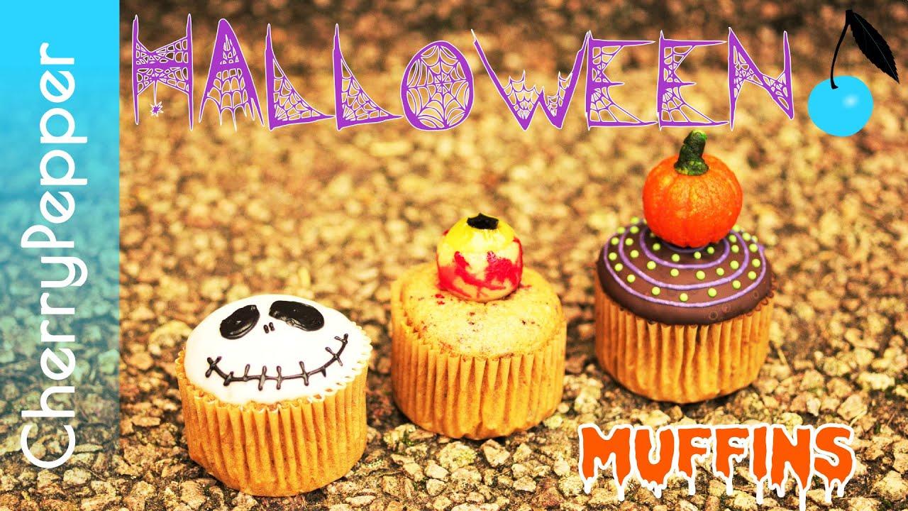 Muffins Halloween - Partie 1/2 - Décorations faciles - CherryPepper ...