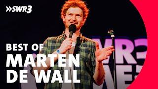 Marten de Wall beim SWR3 Comedy Festival 2018