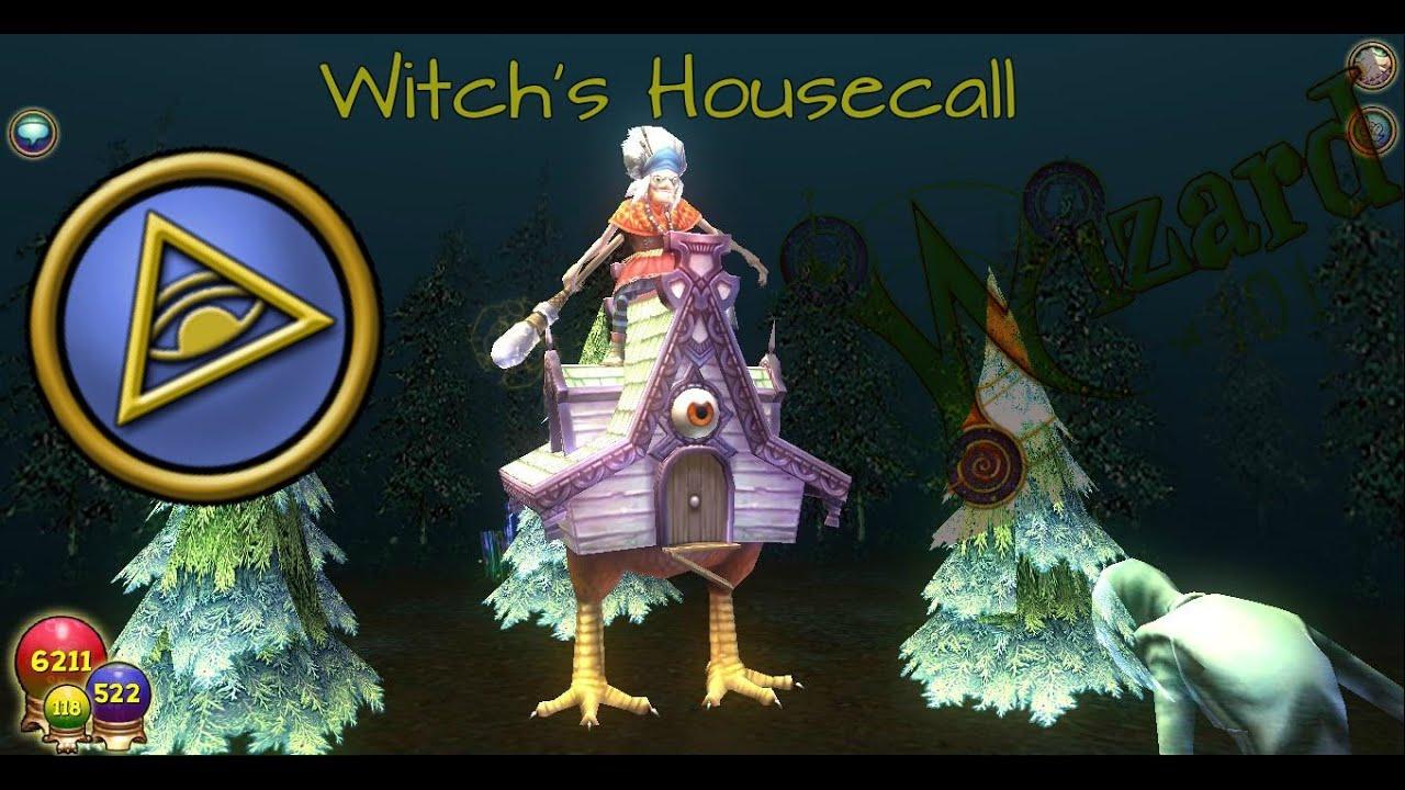 wizard101 new myth spell quotwitchs housecallquot quotilluminati