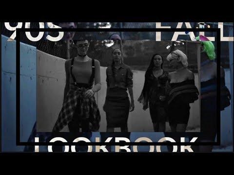 90's Inspired FALL LOOKBOOK feat. Paula, Sarah Louise and Morgan Bree