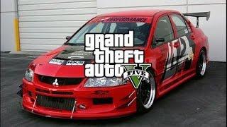 GTA 5 - UNDERGROUND DRIFT ドリフト PRELUDE